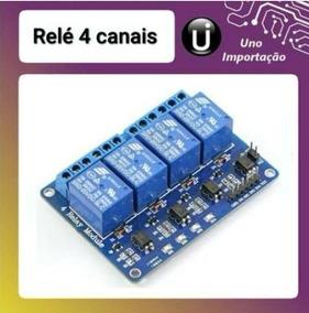 Modulo Rele 5v 4 Canais Arduino Automação