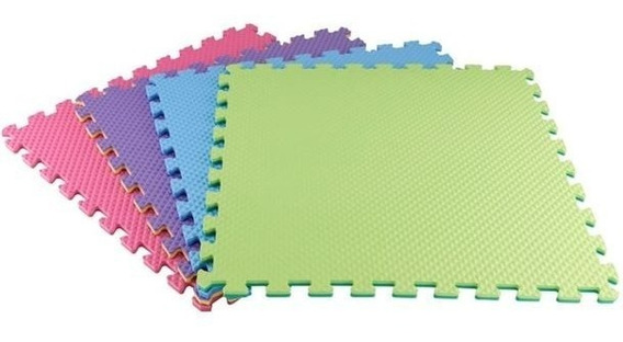 Piso Foamy Colores Pastel Envio Gratis 16 Pzas