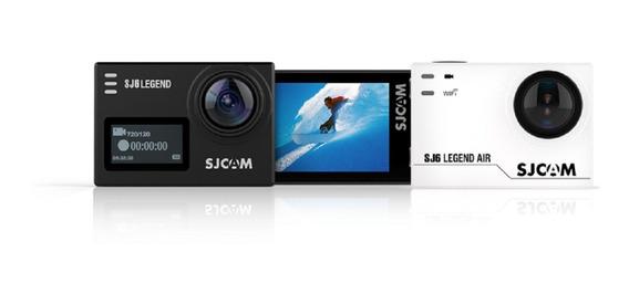 Camera Filmadora 4k Pro Go Sjcam Sj6 Legend
