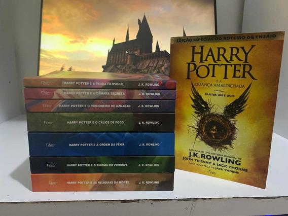 Coleção 8 Livros Do Harry Potter