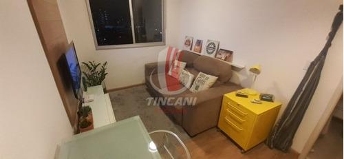 Imagem 1 de 10 de Apartamento Para Locação No Bairro Brás, 2 Dorm, 1 Vaga, 47 Metros. - 5794
