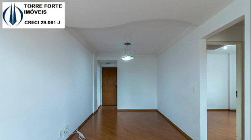 Imagem 1 de 15 de Apartamento Com 2 Dormitórios E 1 Vaga Na Vila Santa Catarina - 2659