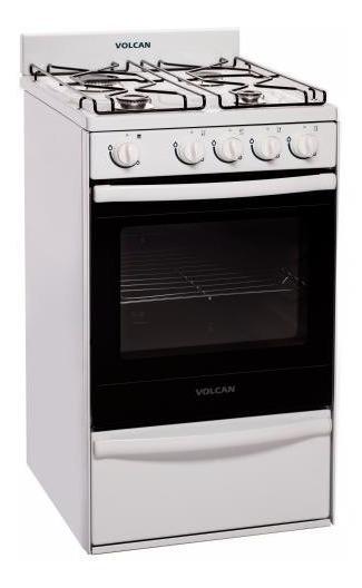 Cocina Volcan 50cm 89144v Multigas Blanca.