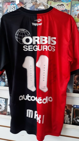 Camiseta De Newells Usada 2014/15 , #11 - Maxi ,impecable