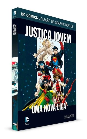 Graphic Novels Eaglemoss Justiça Jovem Uma Nova Liga Vol. 49