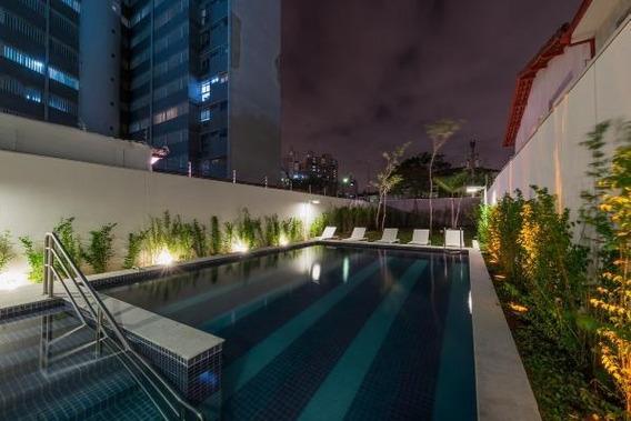 Apartamento Para Venda Em São Paulo, Sumaré, 1 Dormitório, 1 Suíte, 1 Banheiro, 1 Vaga - Af1575v9920