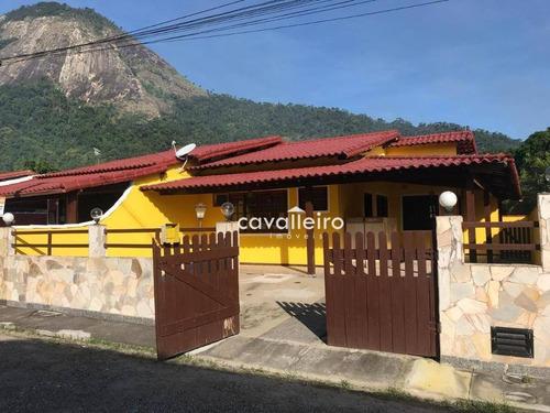 Casa À Venda, 100 M² Por R$ 350.000,00 - Inoã - Maricá/rj - Ca3598