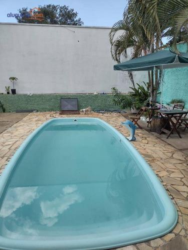 Chácara, Com 2 Dormitórios, E Piscina, Na Região Central De São Pedro,  Com Todas A Facilidades - Ch0209