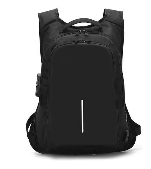 Mochila Antirrobo Smart Bag F751 Usb Notebook Tablet Resist
