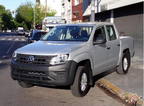 0km Volkswagen Amarok 2.0 Trendline 4x2 Entrega Inmediata A