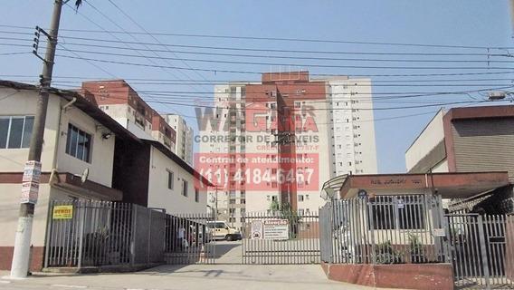 Apartamento Santa Terezinha, Carapicuiba, 2 Quartos Com 1 Vaga - 946