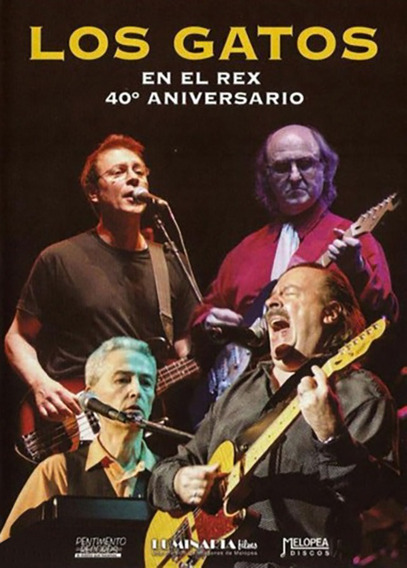 Los Gatos - En El Rex 40 Aniversario - Dvd