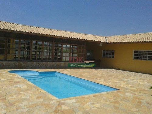 Imagem 1 de 5 de Chácara Com 3 Dormitórios À Venda, 1540 M² Por R$ 700.000,00 - Chácaras Cataguá - Taubaté/sp - Ch0704