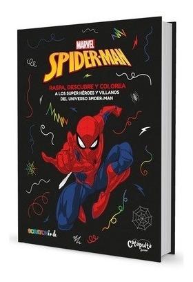 Imagen 1 de 2 de Libro - Raspa, Descubre Y Colorea Spiderman