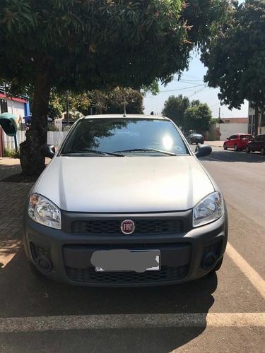 Imagem 1 de 7 de Fiat Strada 2020 1.4 Hard Working Ce Flex 2p
