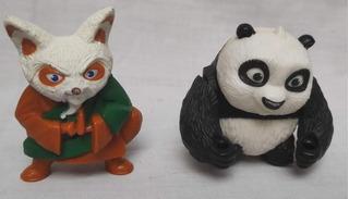 3 Muñecos De Kung Fu Panda Mc Donalds
