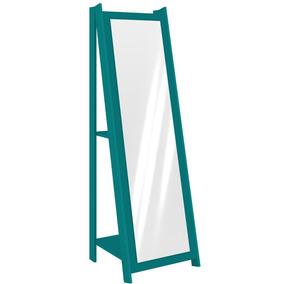 Espelho De Chão Movelbento Rt3083 - Turquesa