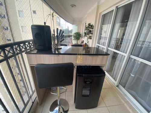 Apartamento No Maia 2 Suites  2 Vagas Varanda Gourmet Lazer Completo, Maravilhoso! - Ap16930