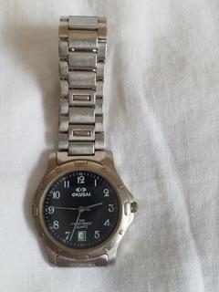 Reloj Pulsera Marca Okusai De Hombre