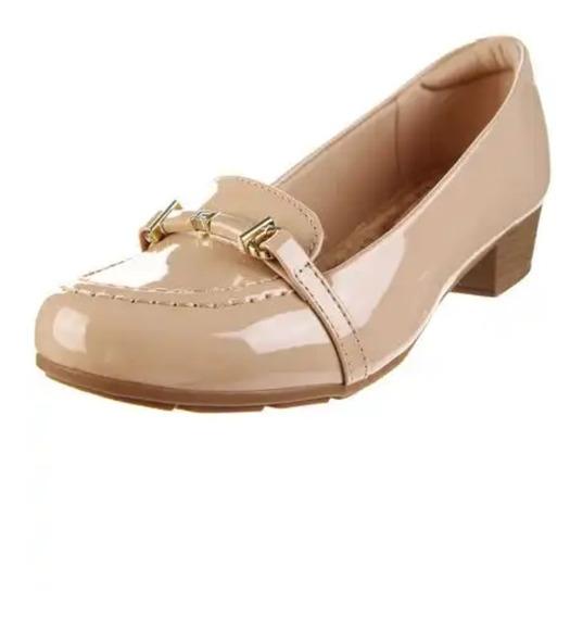 Zapato Vestir Mujer Elegante Charol Modare