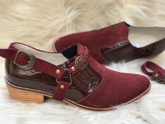 Botinetas Texanas Cortas N*41.42.43.44de Mujer-calzadosatlas