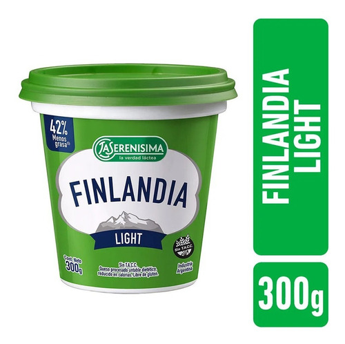 Queso Finlandia Light X 300g