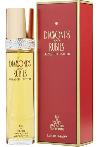 Perfume Locion Diamonds Y Rubies 100ml Original