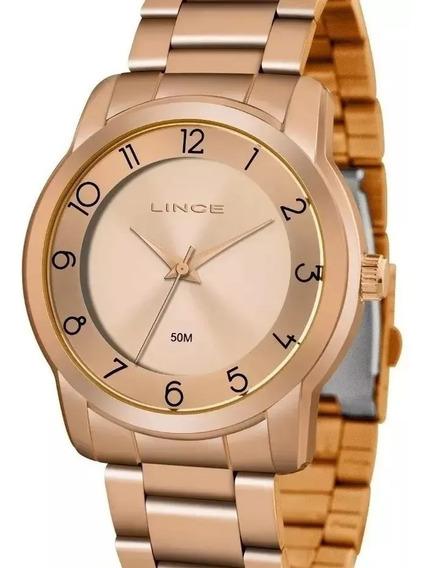 Relógio Lince Feminino Lrr4590l - Rosê