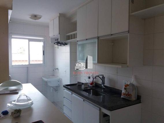 Apartamento Com 3 Dormitórios Para Alugar, 56 M² Por R$ 1.450,00/mês - Portal Dos Ipês Ii - Cajamar/sp - Ap0238