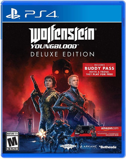 Wolfenstein Youngblood Deluxe Edition / Juego Físico / Ps4