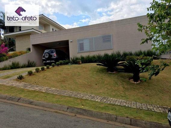 Imobiliária Em Atibaia - Casa Térrea Residencial À Venda Em Condomínio Fechado De Luxo Em Atibaia. - Ca2913