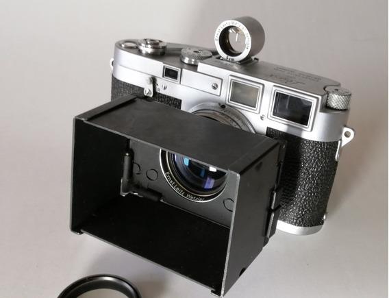 Leica M3 Com Lente Summarit