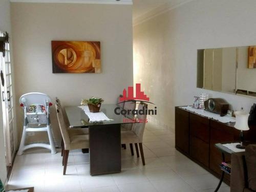 Imagem 1 de 30 de Casa Com 3 Dormitórios À Venda, 100 M² Por R$ 420.000 - Jardim Boer I - Americana/sp - Ca2086