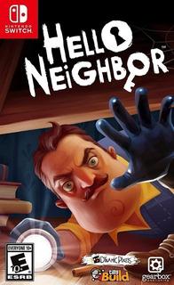 Hello Neighbor Switch (nuevo Y Sellado De Fabrica)
