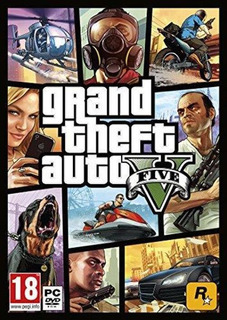 Grand Theft Auto V - Gta 5 Online - Para Pc - Fastcard