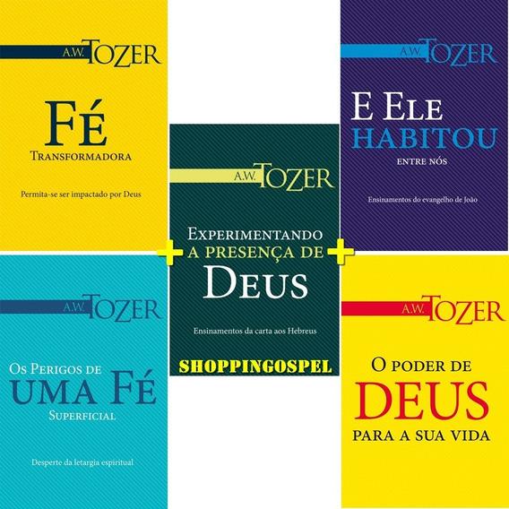Kit 05 Livros Experimentando A Presença De Deus E Mais