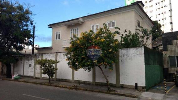 Casa Para Comércio, 500 M²; Aflitos - Com Taxas Inclusas - Ca0083