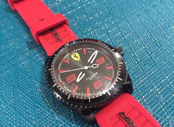 Reloj Ferrari Xx Kers Rojo Con Negro Nuevo Original
