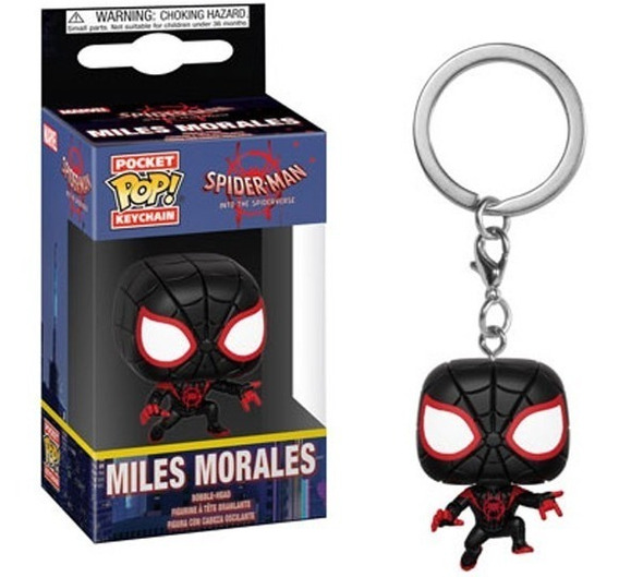 Llavero Funko Pop Miles Morales - Spiderman The Spiderverse