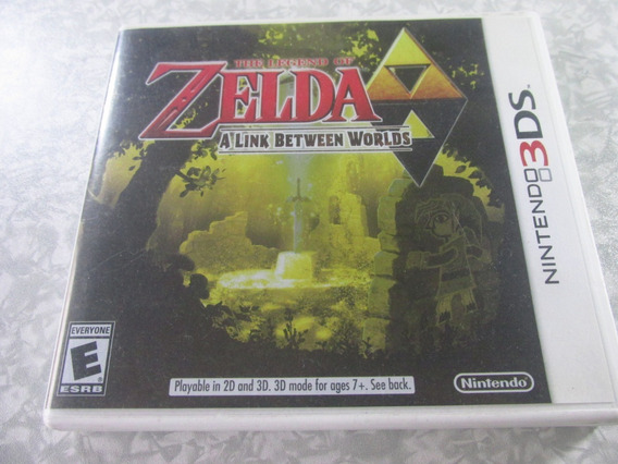 Nintendo 3ds - Zelda A Link Between Worlds - Original