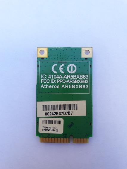 Placa Wifi Atheros Ar5bxb63 - Informamos Compatibilidade