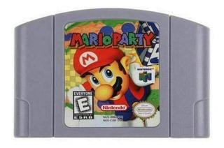 Mario Party N64 Nintendo 64 Repro