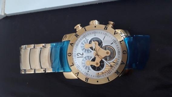 Relógio Bvulgari Novo Na Caixa, Automático R$ 600,00.