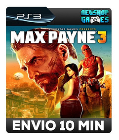 Max Payne 3 - Psn Ps3 - Promoção - Pronta Entrega - Envio Ja