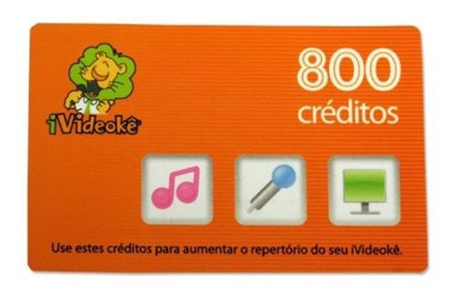 Videoke Cartao 800 Creditos