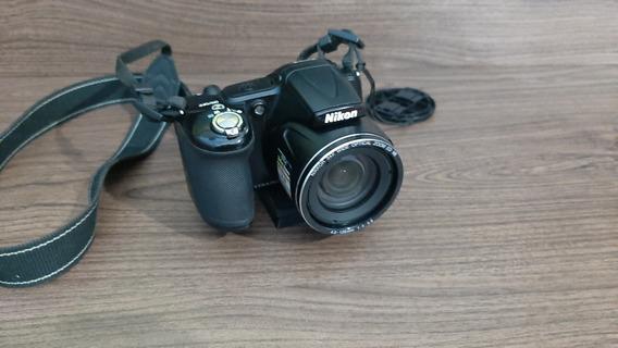 Câmera Nikon L820 Com Fonte De Energia