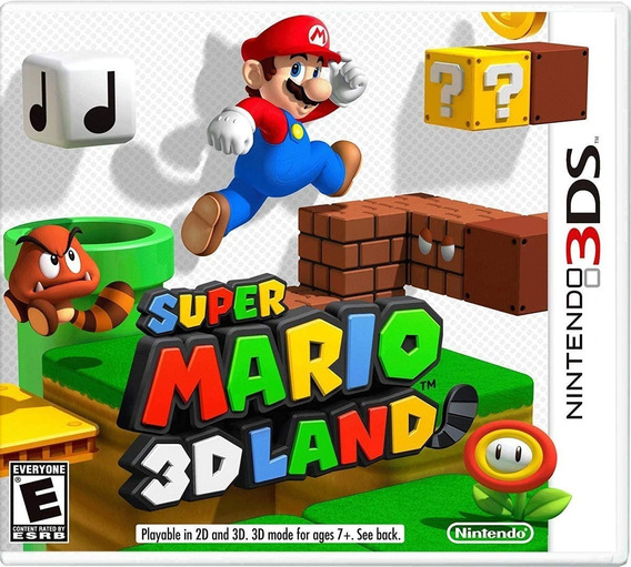 Jogo Super Mario 3d Land - Nintendo 3ds - Semi-novo
