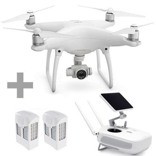 Drone Dji Phantom 4 Pro  Com Tela + Maleta  + 2 Baterias Ext