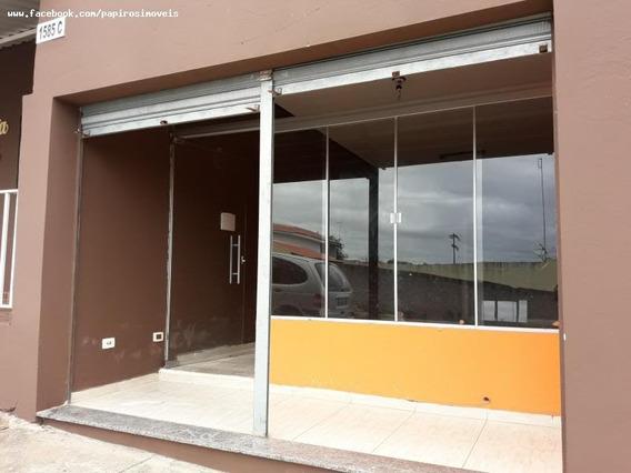 Ponto Comercial Para Locação Em Tatuí, Nova Tatui, 1 Banheiro - 051