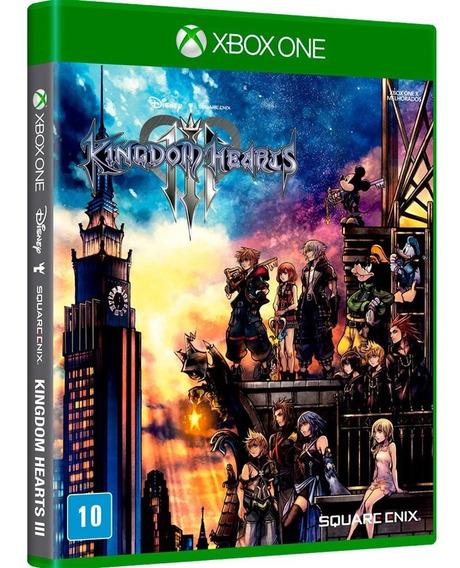 Kingdom Hearts 3 Xbox One Mídia Física Lacrado